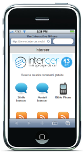 Testati noul website Intercer pentru mobil – intercer.mobi